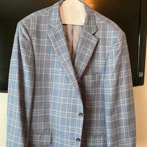 Blue Checkered Sport Coat